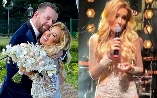 """Sylwia Peretti z """"Królowych życia"""" wzięła ślub. Na jej bajecznym weselu bawiła się m.in. bohaterka programu """"Dieta czy cud"""" Kinga Zawodnik."""