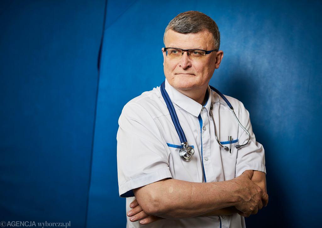Dr Paweł Grzesiowski, ekspert Naczelnej Rady Lekarskiej do spraw COVID-19