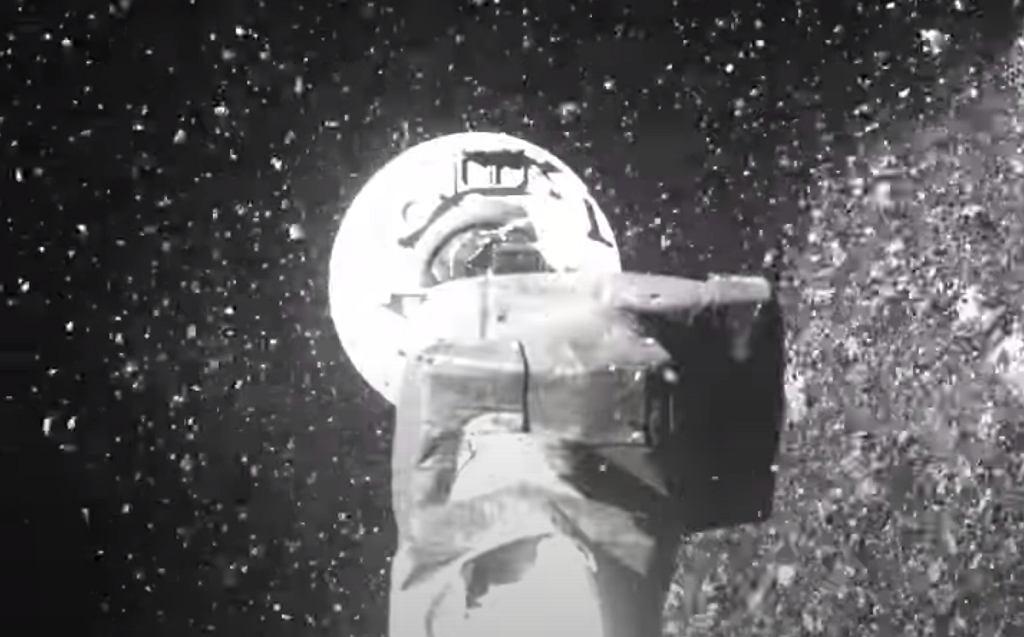 NASA publikuje nagranie z pobrania próbek z Bennu przez OSIRIS-REx