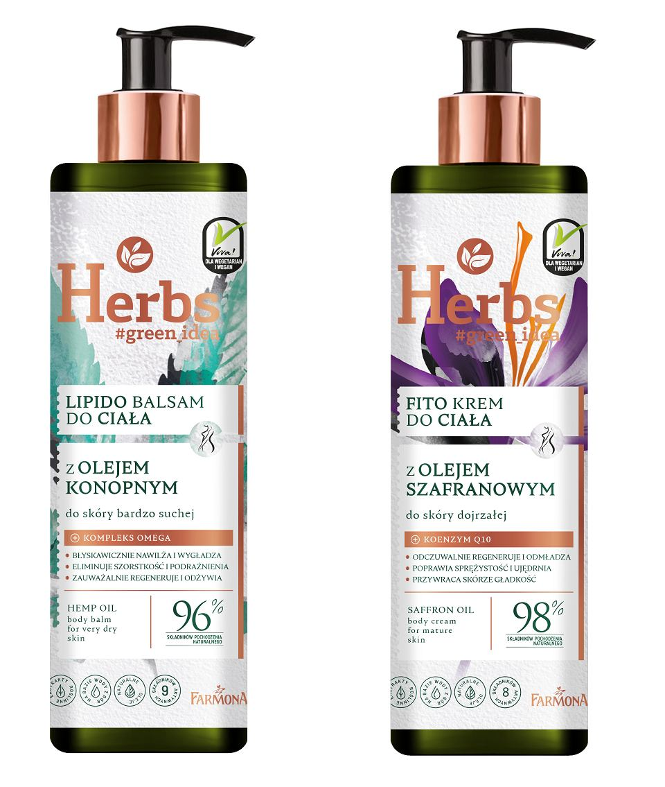 Balsam i krem do ciała od Herbs