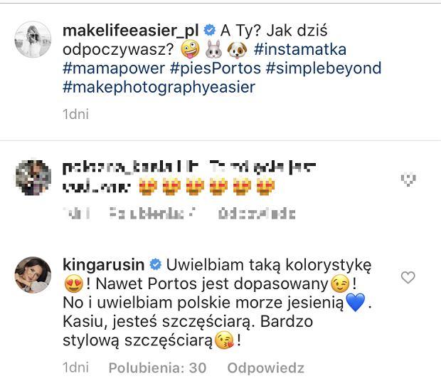 Komentarz Kingi Rusin u Kasi Tusk