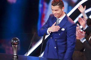 Ronaldo nie przyleciał na galę Złotej Piłki. Czekał w aucie, by odebrać inną nagrodę