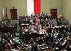 Kancelaria Sejmu wzywa PO do opuszczenia sali plenarnej. Platforma: Nie wyjdziemy