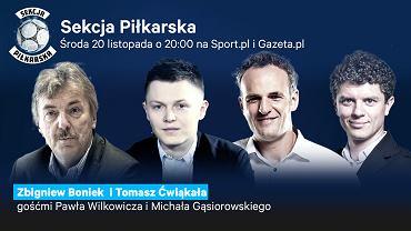 Zbigniew Boniek gościem Sekcji Piłkarskiej!