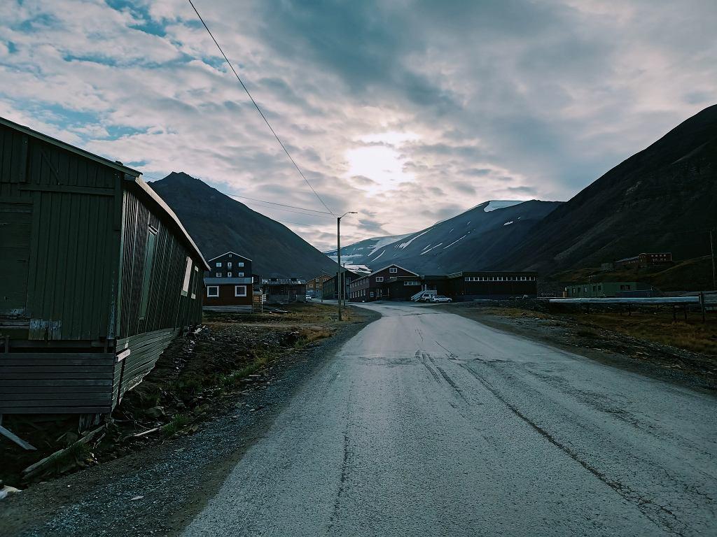 Longyearbyen w Norwegii