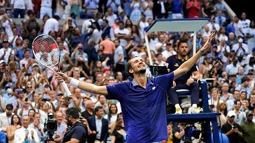Sensacja w finale US Open. Miedwiediew zatrzymał Djokovicia na drodze do historii!