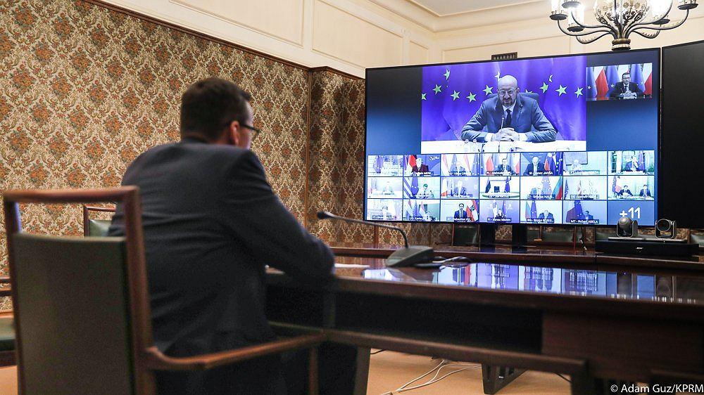 Wideokonferencja liderów państw członkowskich UE