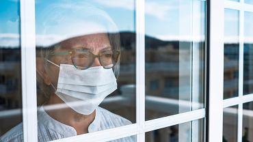 Delirium może być pierwszym symptomem COVID-19 u starszych osób