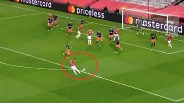 Fenomenalny gol Bruno Fernandesa w meczu Manchester United 4:1 Basaksehir. Źródło: Twitter
