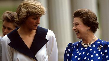 Królowa Elżbieta II miała już dość humorów księżnej Diany. Nadała jej niemiły pseudonim