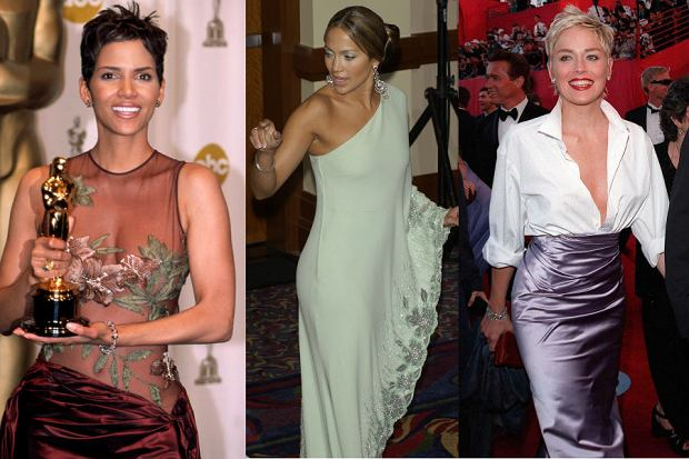 Od lewej: Halle Berry, Jennifer Lopez i Sharon Stone
