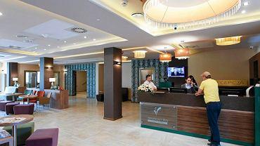 Uczniowie techników mogą pracować w hotelowych recepcjach