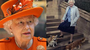 Elżbieta II z psami