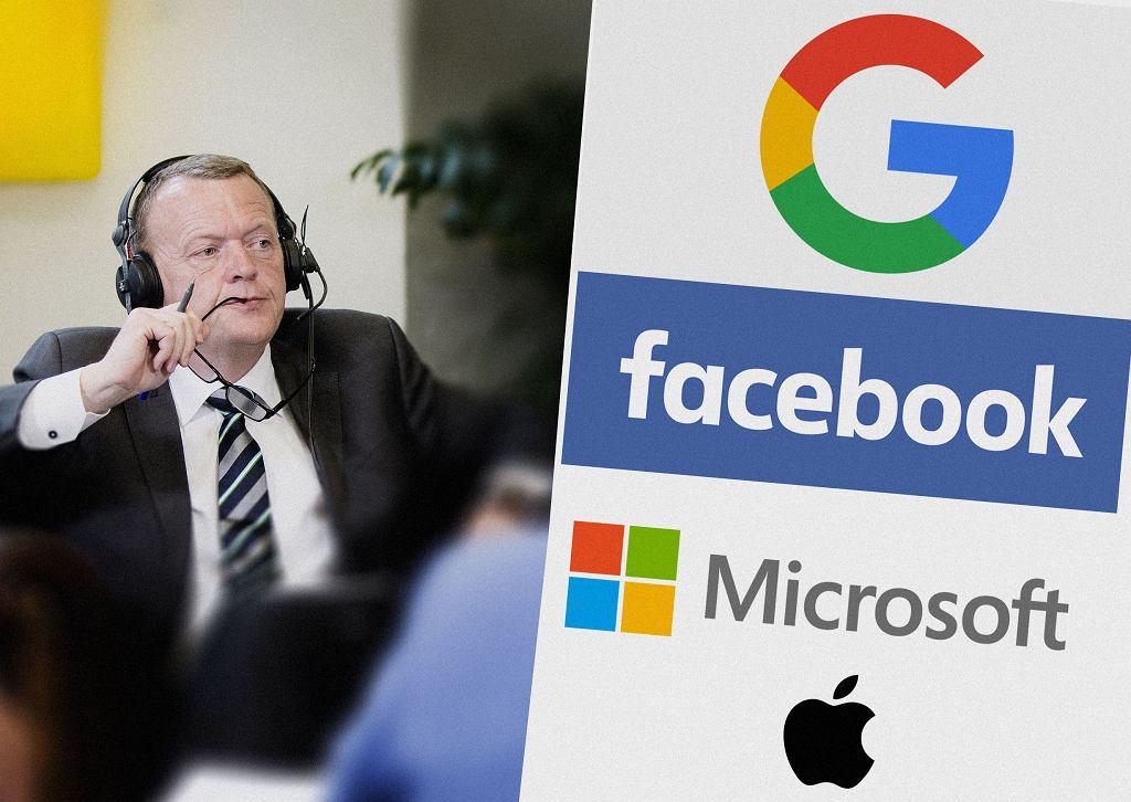 Anders Samuelsen, minister spraw zagranicznych Danii, chce powołania ambasadora technologicznego