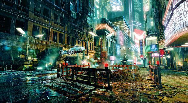 top 10, gry, Top 10 filmowo-growych strzałów, Blade Runner