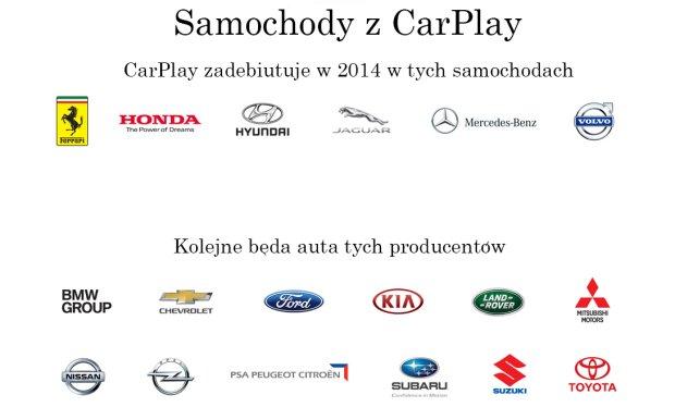 Partnerzy CarPlay
