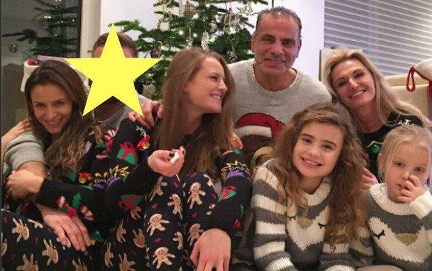 Artur Boruc z rodziną