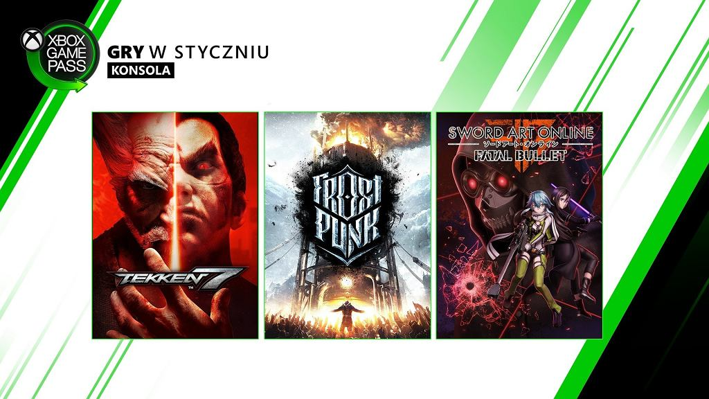 Xbox Game Pass, nowe gry na konsole