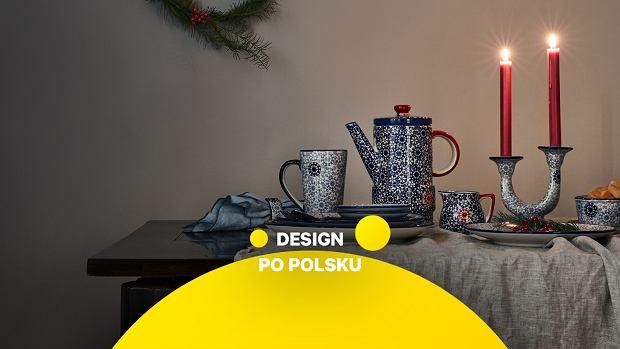 Polska ceramika na Boże Narodzenie - kobalt i szarość to nowe kolory świąt