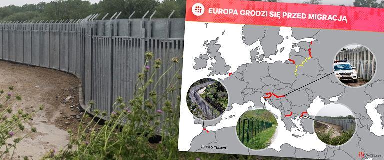 Patrząc na inne płoty fortecy Europa, ten polski będzie z rozmachem. Tak wyglądają pozostałe [ZDJĘCIA]