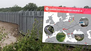 Mury na granicach Europy