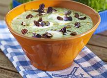 Chłodnik z zielonych warzyw i koziego sera - ugotuj