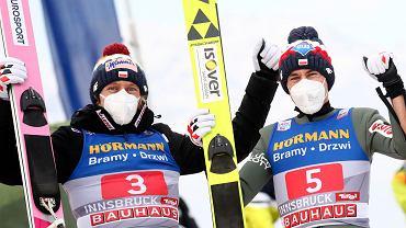 Dawid Kubacki i Kamil Stoch w Innsbrucku