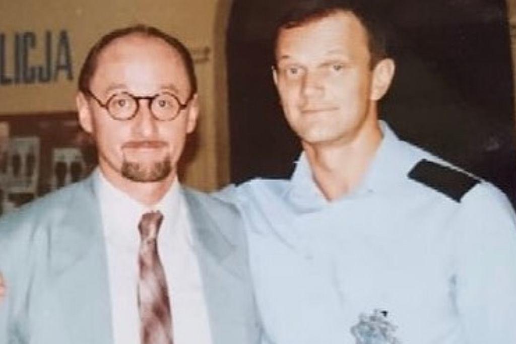Andrzej Niemirski i Cezary Pazura