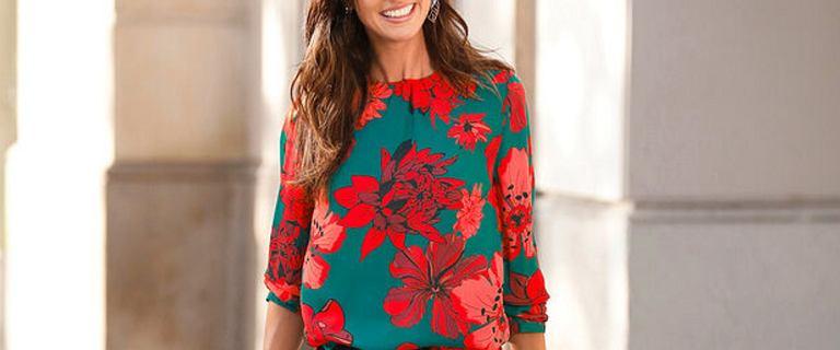 Najpiękniejsze bluzki Bonprix. Wolisz w kwiaty, w cętki, a może z koronką? Niektóre kosztują mniej niż 40 zł!