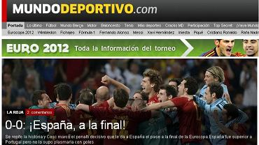 Screen z portalu El Mundo Deportivo