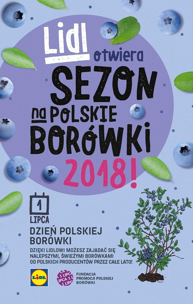 Dzień Polskiej Borówki w Lidlu - Polskie borówki przez całe lato w Lidlu