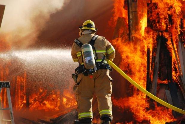 Strażak (zdjęcie poglądowe)