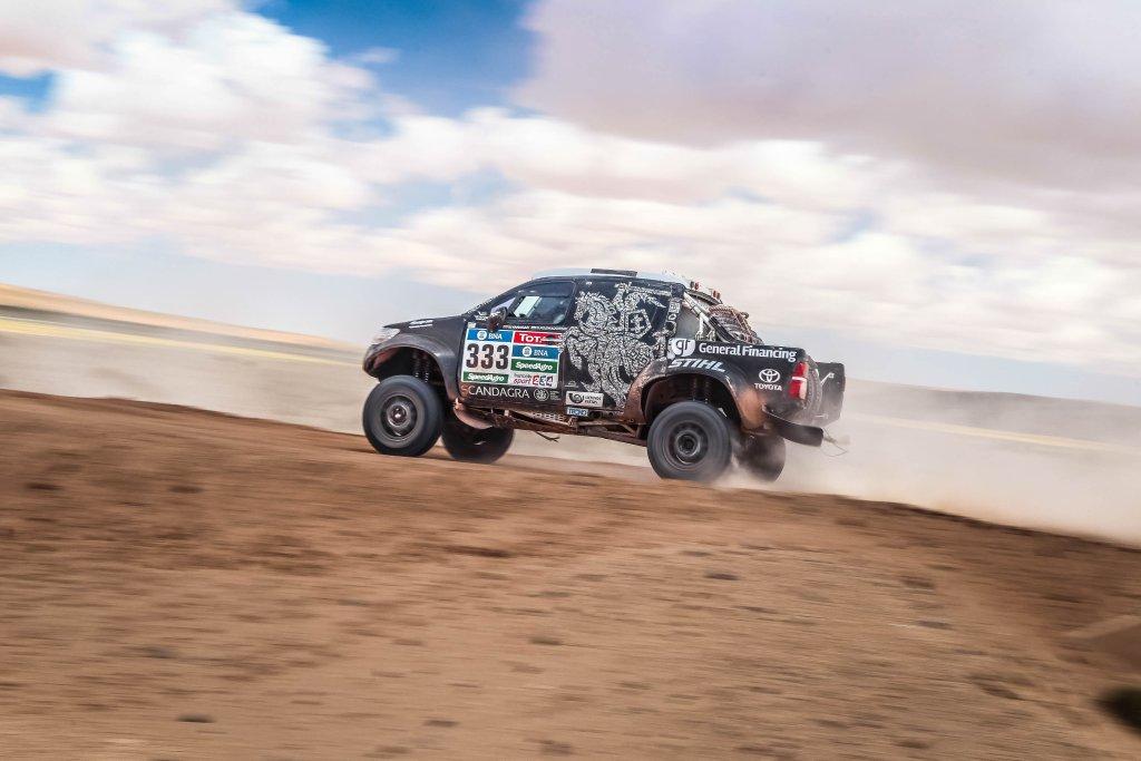 Litewsko-polska załoga na trasie Rajdu Dakar