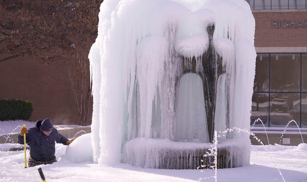 Atak zimy w Teksasie