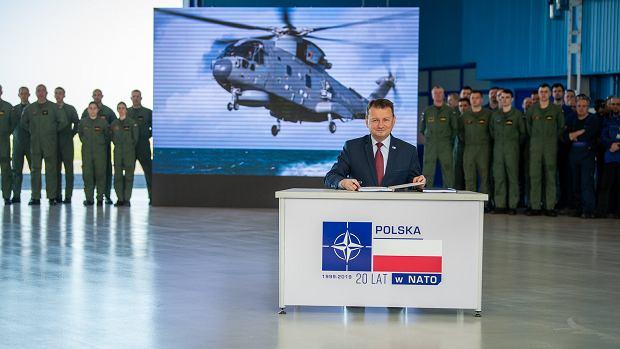 Minister Błaszczak podpisuje umowę na 1,65 mld złotych