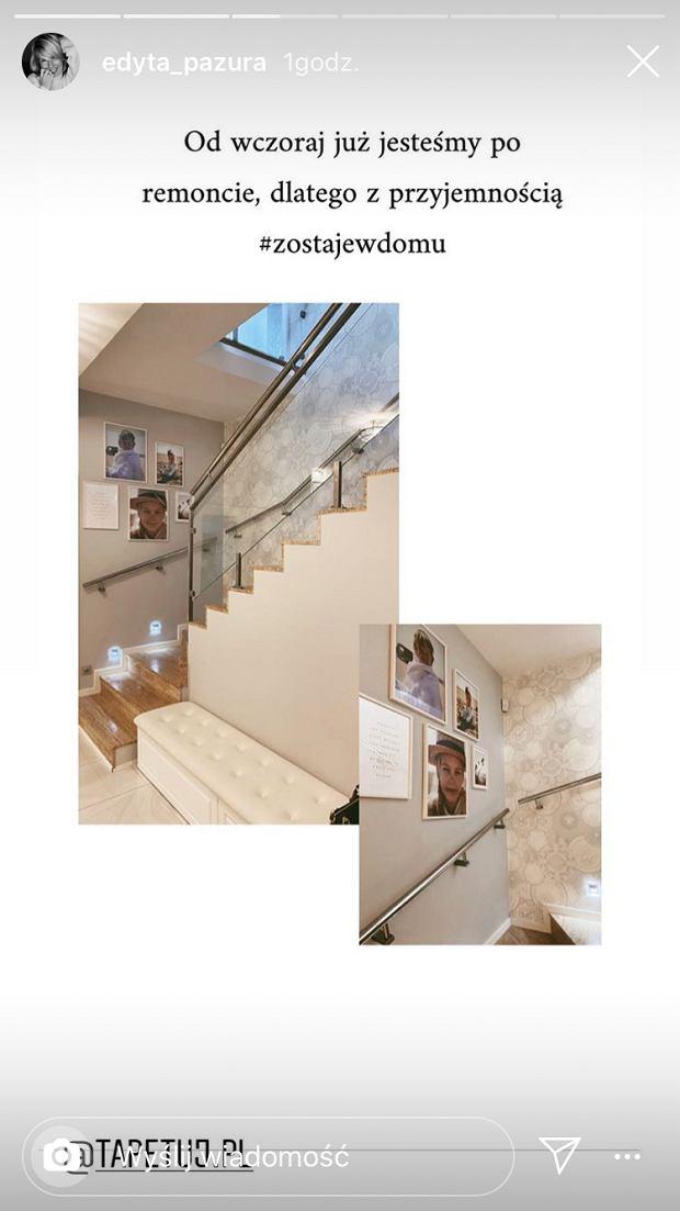 Edyta Pazura pokazała dom