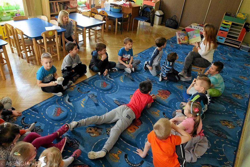 'Płock czyta małemu misiowi' w przedszkolu nr 14