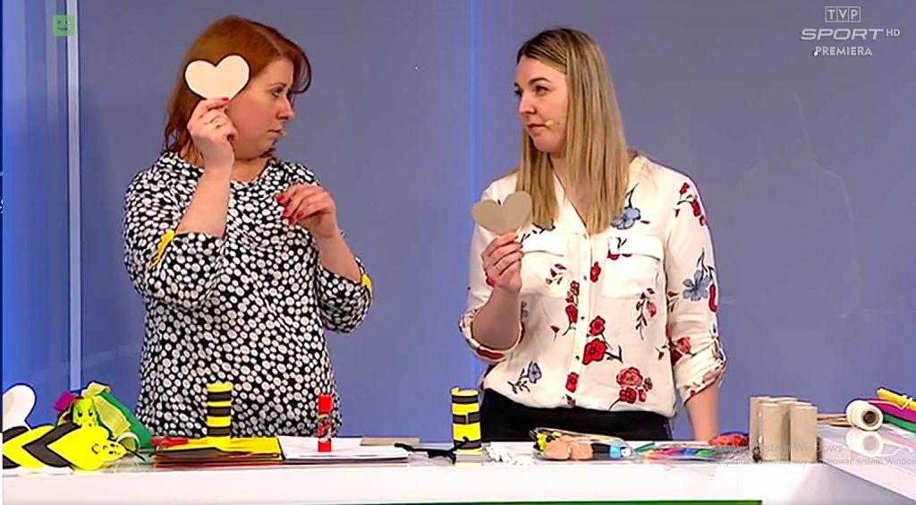 Kadr z jednego z odcinków 'Szkoły TVP'