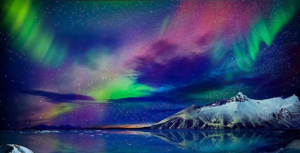 Zorza polarna (zdjęcie ilustracyjne)