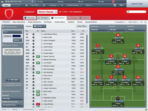 Top 10: gry sportowe wszechczasów, gry, top 10, Football Manager 2012