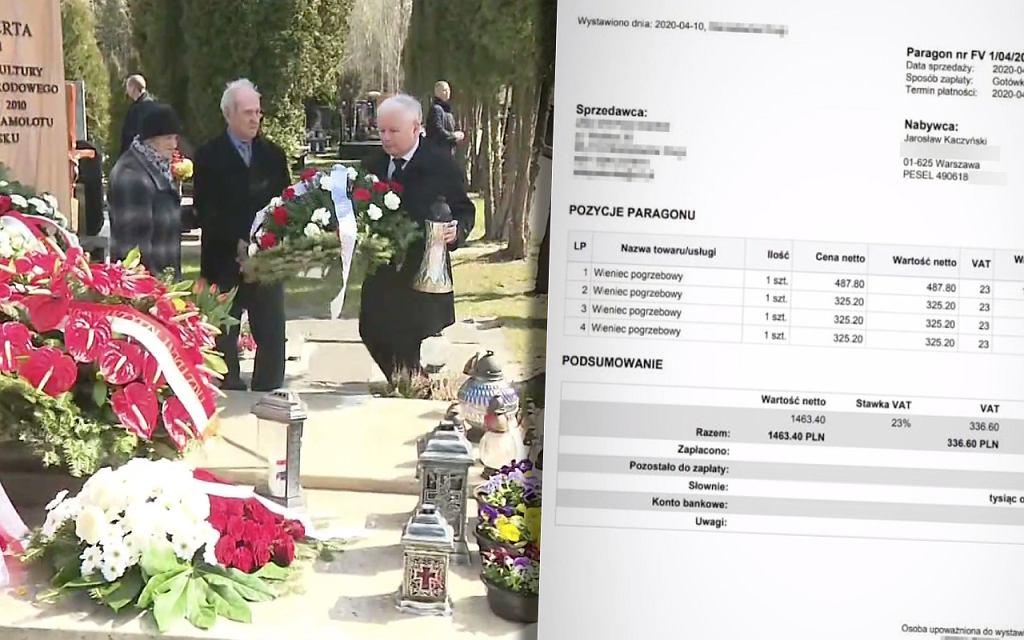 Rachunek Jarosława Kaczyńskiego