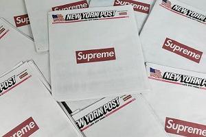 """Nakład """"New York Post"""" wyprzedany dzięki Supreme"""