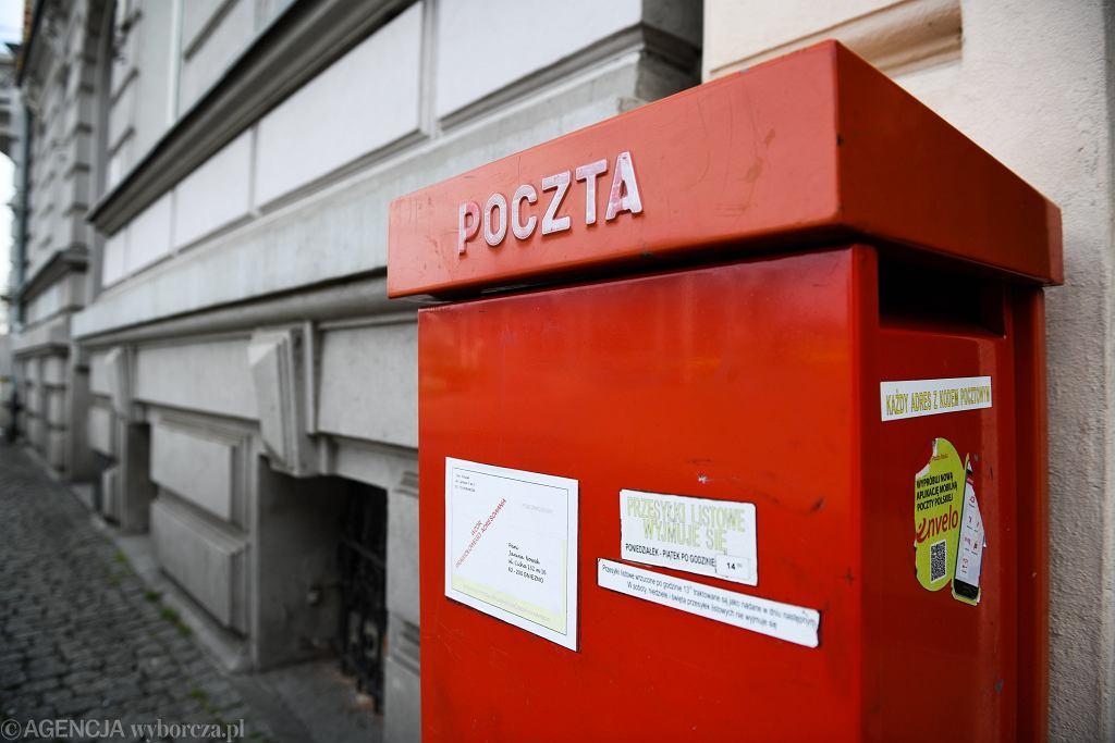 Poczta Polska poprosiła samorządowców o wydanie danych o wyborcach