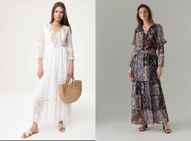 Letnie sukienki w stylu boho - idealne na lato