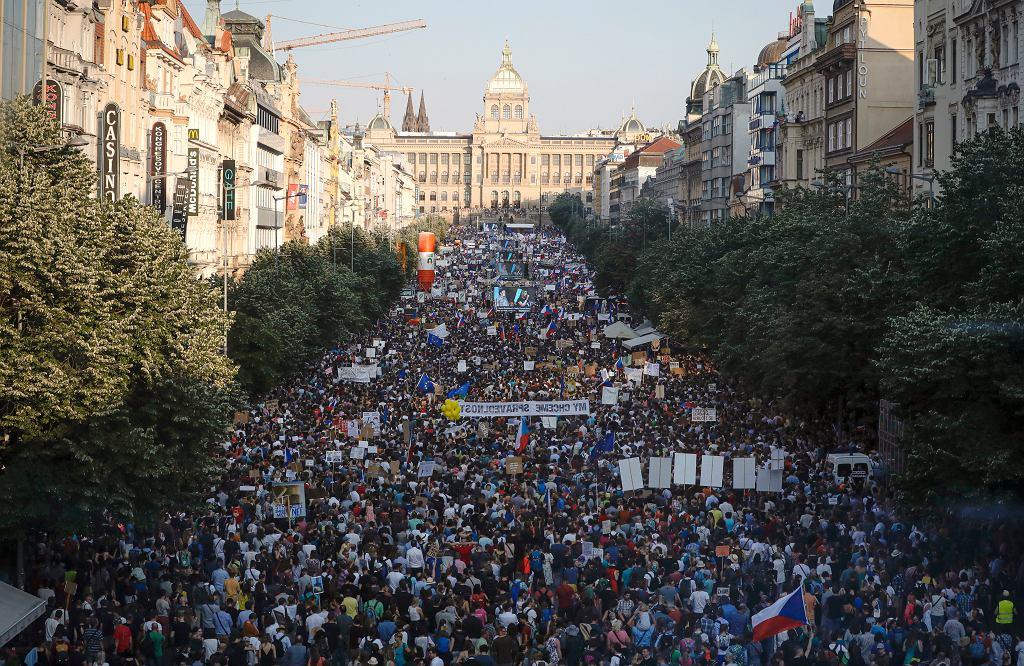 APTOPIX Czech Republic Protest
