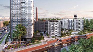 Tak ma wyglądać najwyższy budynek w inwestycji Browary Wrocławskie firmy Archicom