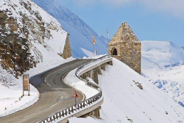 Grossglockner High Alpine Road łączy Salzburg z Karyntią i gwarantuje niezapomniane widoki / fot. Shutterstock