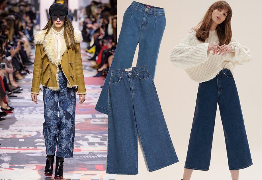 Najmodniejsze jeansy na jesień 2018 - kuloty