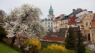 Lublin. Widok na Stare Miasto