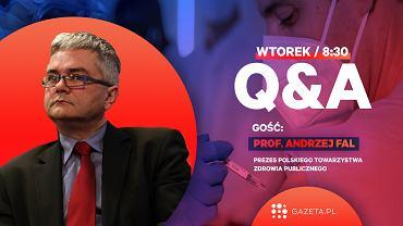 Q&A z prof. Andrzejem Falem